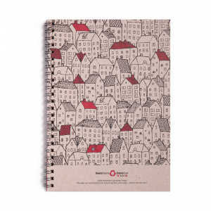 Note Book - Spiral Rooftops -