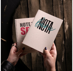 Note Book - Sewn Not...