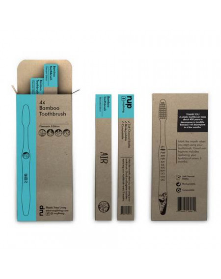 Bamboo Toothbrush  (One Element )