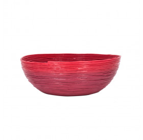 Woven Bowl - Red