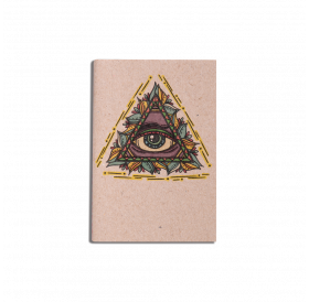 Note Book - Miniature Triangle - Lined