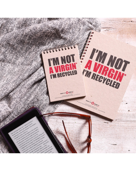 Note Book - Virgin - Lined